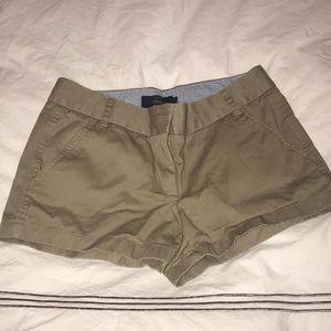 JCrew Chino Shorts, Size 4
